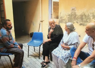 Rulda Singh Family with Babaji
